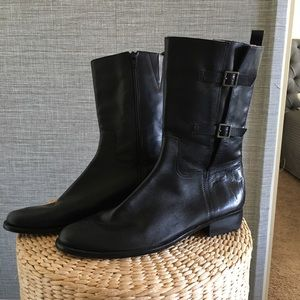 Corso Como Leather Ankle Boots By Nordstrom 9.5M